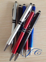Imprinted Office supply promotional ball pen with best writing