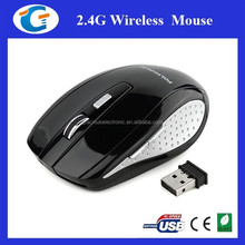 6D key 2.4ghz wireless optical shenzhen computer mouse for all pc
