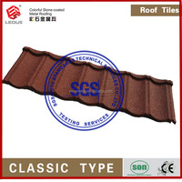brick house metal roof/building material factory house roofing
