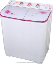 4.0kg sandie with CE CB ISO9001 twin tub semi automatic clothes small washing machines with copper motor optional