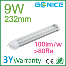 2G11 led tube perfect to replace conventional 2G11 PL lamp CE ROHS UL approved enery saving 2g11 LED tube