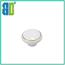 Modern design Ceramic cabinet door handle/ furniture ceramic pull knobs