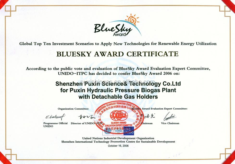 BlueSky Award