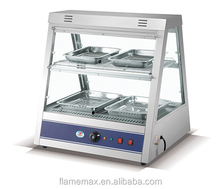 HW-1100A dry heating food display warmer, with air circulation system