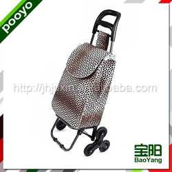 sturdy promotion shopping trolley bag kitchen trolley cart foldable