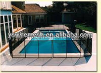 removable pool fence / site privacy public safety temporary fence barricade