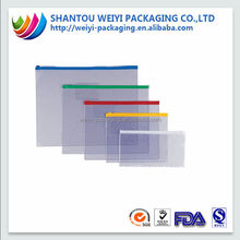Wholesale color printed plastic envelope bag office suppliers