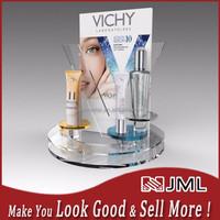 Welcome Custom design! countertop acrylic cosmetic display, acrylic cosmetic display stand, cosmetic shelf for cosmetic store