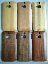 Low MOQ OEM/ODM Real Wood Cell two parts Phone Case protective case for HTC