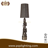 America classic resin table lamp With Black Base With Fabric Shade