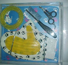 Pet supplies pet brush gloves kit