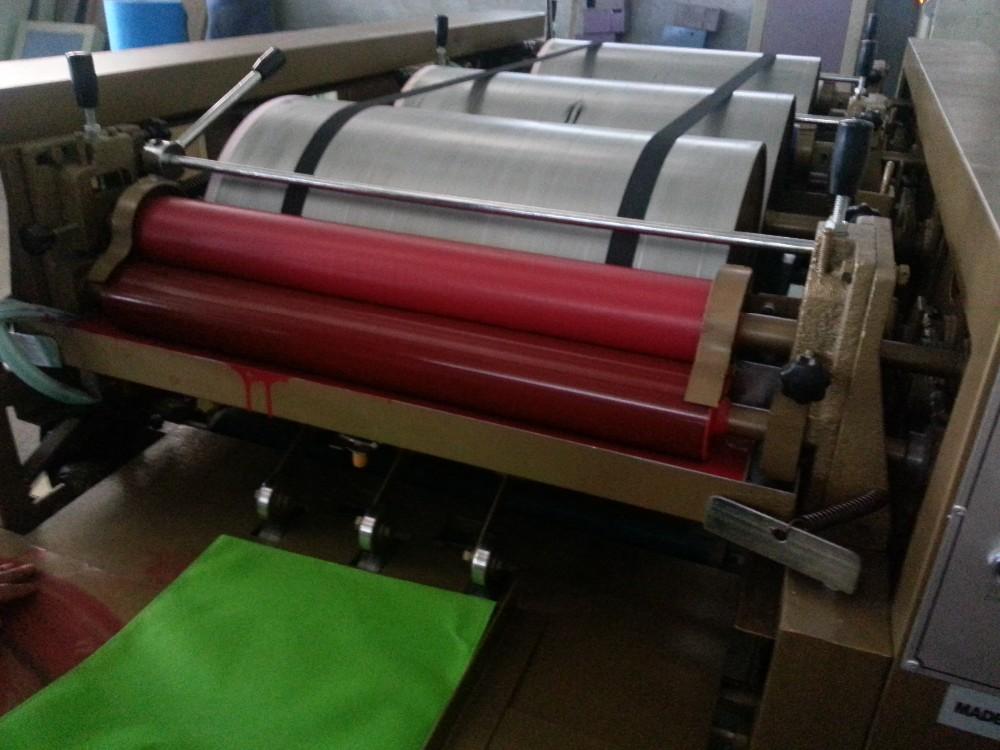 4 couleurs Non tissé sac flexo machine d'impression