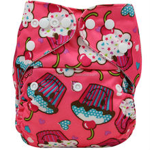 Ohbabyka reusable baby cloth diaper all in one size (healthy & washable)