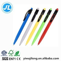 Yiwu market wholesale 0.7mm candy color cheap ballpoint pen good for promotion