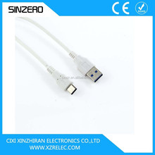 New arrival reversible USB 3.1 Type-C male/reversible USB 3.1 type C to USB 2.0 data cable/reversible USB 3.1 type C data cable