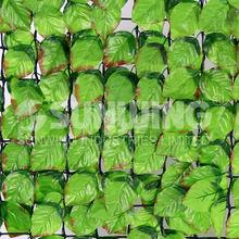 Setos artificiales SUNWING con flores de plástico para acoplar a vallas de madera o metal