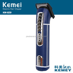 KM-820-1 family use rechargeable/ battery men's hair clippers