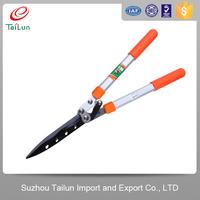 long handle curved blade garden pruning scissors
