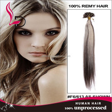 i tip hair extensions 28 inch silk human hair natural color straight I tip hair wefting