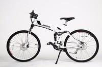 26 inch electric mountain bike with 250w Brushless hub motor beerbike