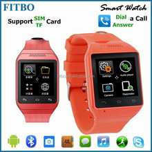 Global Ingenuity FITBO Weather 3D Pedometer Touch FTB20 android bluetooth watch