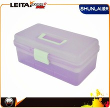 2014 colorful design and diy plastic portable storage tool box plastic tool box for first aids