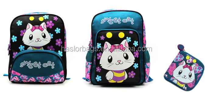 New designer cheap de gros personnalisé sac à dos sac d'école des enfants