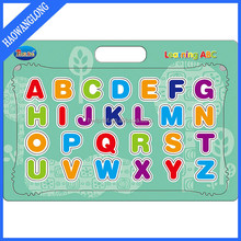 educational toy beautiful cardboard animal english alphabet letters