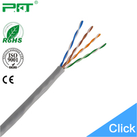 High Speed Cheap Housing Decoration 100/% Pure Copper 24AWG Lan Cat5e UTP Cable Manufacturers