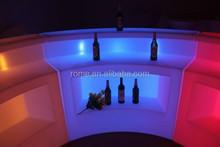 illuminated mobile bar counter/portable led bar