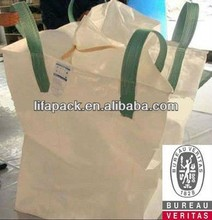 pp woven jumbo bags with virgin pp material 1.2 ton