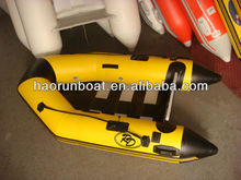 CE approvd inflatable boat motor boat RS-M230 slat floor 2.3m long