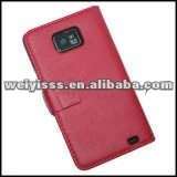 2013 New arrival !Cow Leather Stylish Cell Phone Women's Pouch Bag(Red)