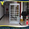 Australian standards Aluminum Glass Doors/window shutters/transparent roller shutter