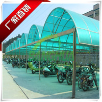 10 years quality warranty for the 4mm to 8mm thickness solid color garage polycarbonate roofing