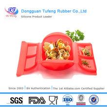 Kitchenware FDA/LFGB/SGS standard plastic bento lunch box