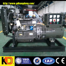 30kw/37.5kva rated power AC three phase output diesel generator powered by Weifang