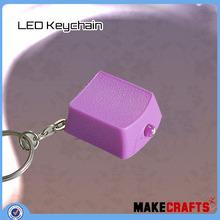 LK-Am(72) Fashion Colorful micro light led keychain flashlight wholesale Alibaba led keychain