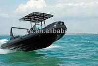 Liya 6.6m central console Rigid inflatable boats rib boats China