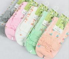 custom made women short lace socks bamboo