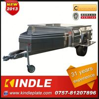 Kindle Professional Custom camping trailer motorcycle Manufacturer with 31 Years Experience from Guangdong