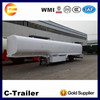 Hot sale 3 axles chemical oil tanker trailer for sale