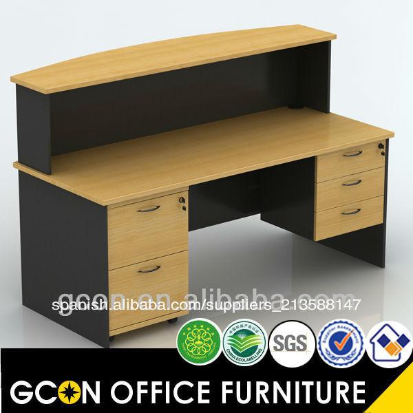 Dise o frontal peque o escritorio para la oficina moderna for Oficina western union alicante
