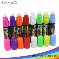 10 mm nib liquid chalk marker pen with washable ink