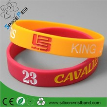 cheap sell basketball band, text phrase logo engraved cheap silicone wristbands,promotion quality debossed silicone band