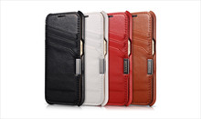 Genuine Leather Case For Galaxy S6,Flip Mobile Phone Cover For Samsung S6