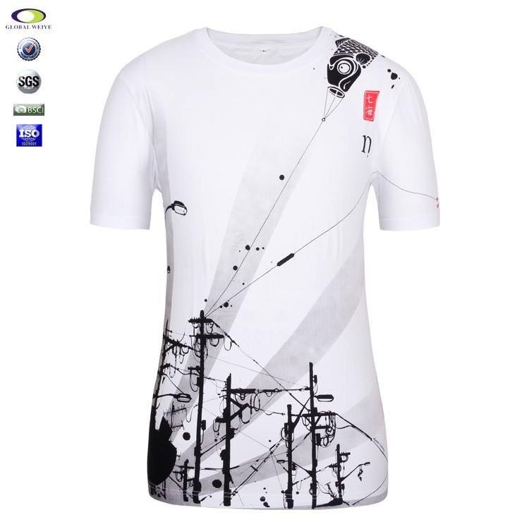 Chinese cheap full size all over sublimation printing t T shirt printing china