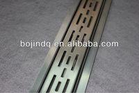 Stainless Steel Linear Shower Floor Drain, Linear Floor Drain, Linear Shower Drain