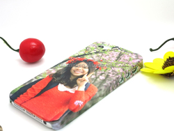 DIY 3D heat sublimation printing case for iphone 6