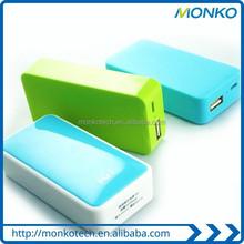 2015 New Logo Gift Mini Portable 5200mAh Keychain Power Bank